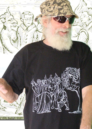 Get your funky Grandad a cool iconic Witchy Halloween T Shirt!